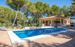 Villa in El Toro - Port Adriano - Pool terrace