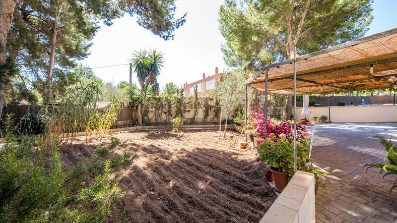 Villa in El Toro - Port Adriano - Back garden