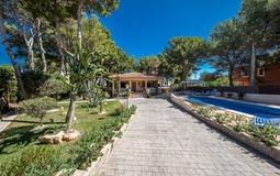 Villa in El Toro - Port Adriano - Garden and building