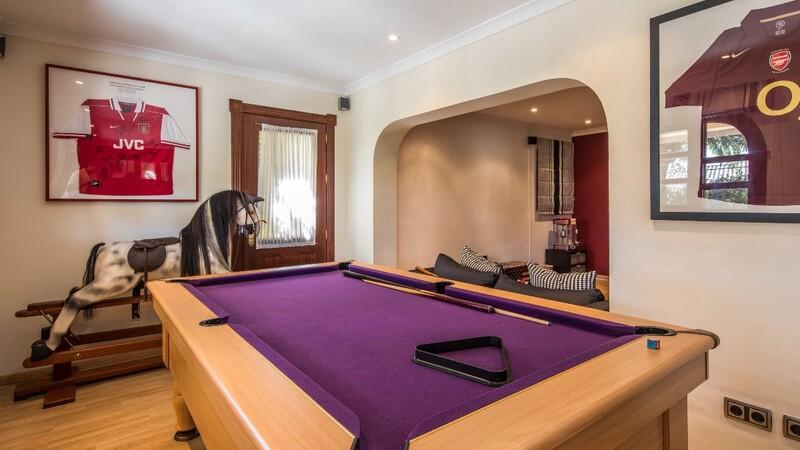 Villa in Costa D´en Blanes - Games room (2)