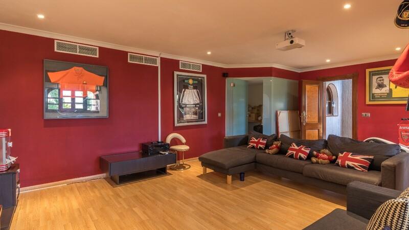 Villa in Costa D´en Blanes - Games room (3)