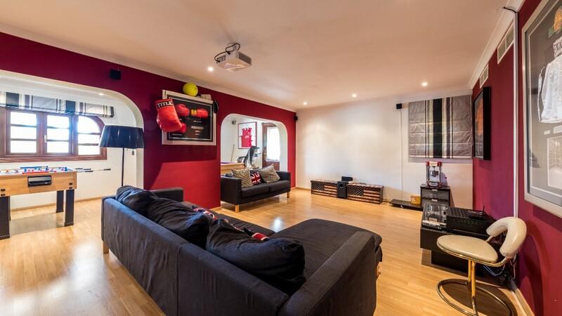 Villa in Costa D´en Blanes - Games room