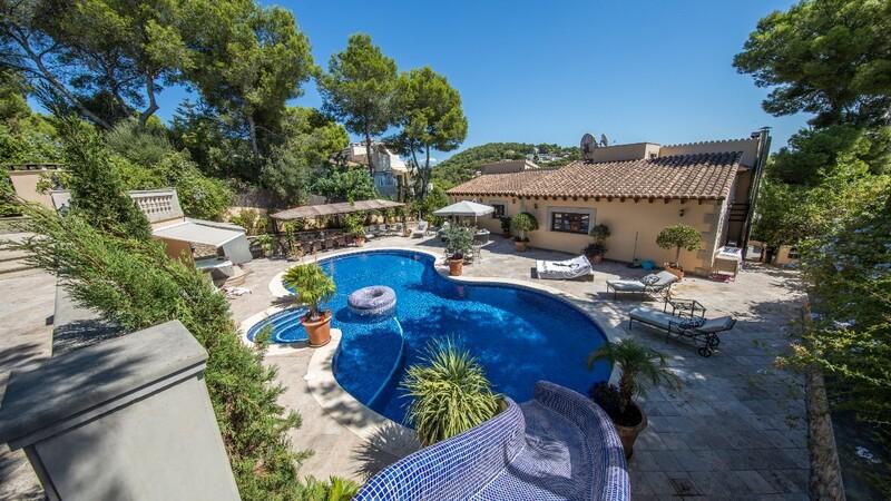 Villa in Costa D´en Blanes - Garden