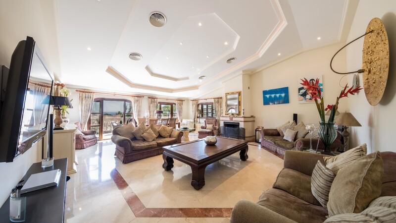 Villa in Costa D´en Blanes - Living aera