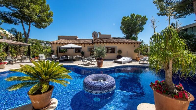 Villa in Costa D´en Blanes - Pool