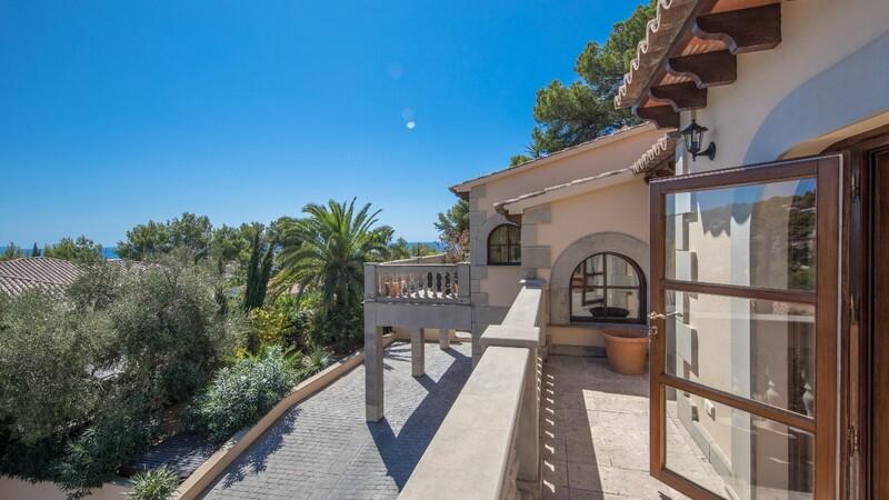 Villa in Costa D´en Blanes - Upper terrace