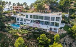 Villa in Costa D´en Blanes - Aerial