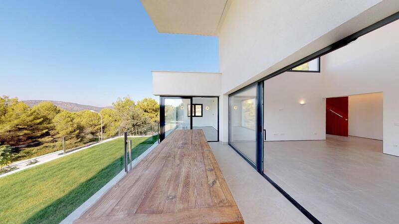 Villa in Cala Vinyes - Dining Terrace