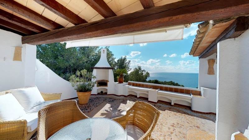 Penthouse in Costa de la Calma - Bedroom Terrace with Sea Views