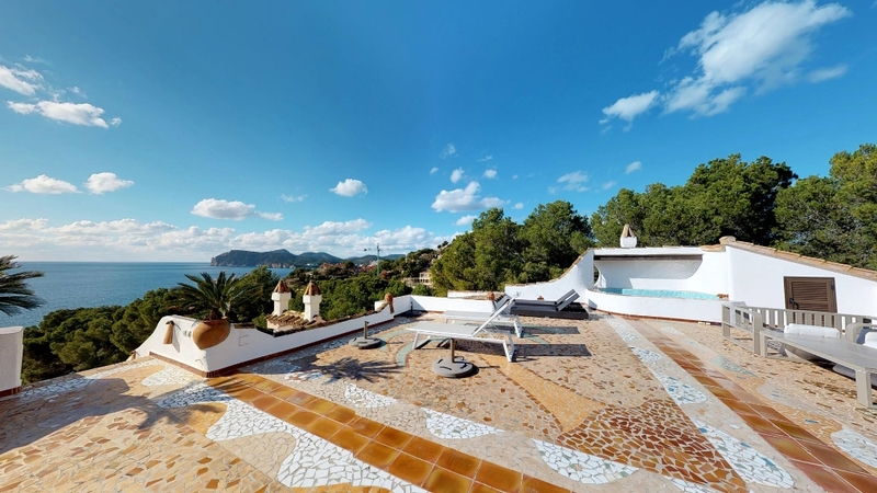 Penthouse in Costa de la Calma - Large Rooftop Terrace with Own plunge pool