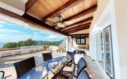 Penthouse in Costa de la Calma - Living Terrace