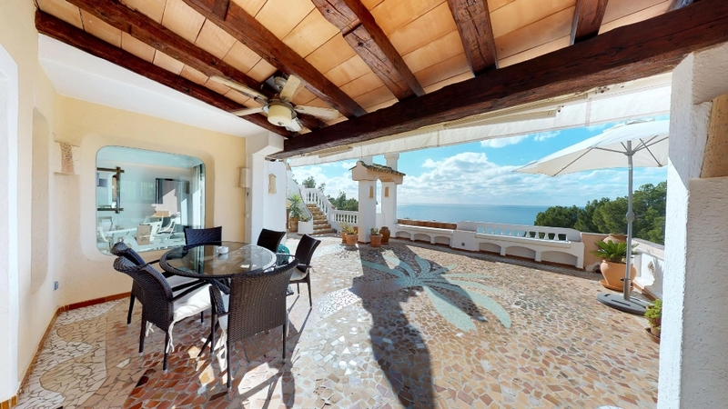 Penthouse in Costa de la Calma - Sunny Living Terrace