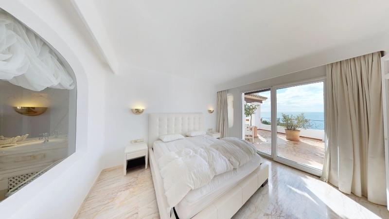 Penthouse in Costa de la Calma - Master bedroom 1