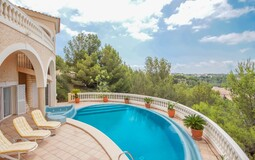 Villa in Bendinat - Pool terrcae and view