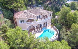 Villa in Bendinat - Property from above