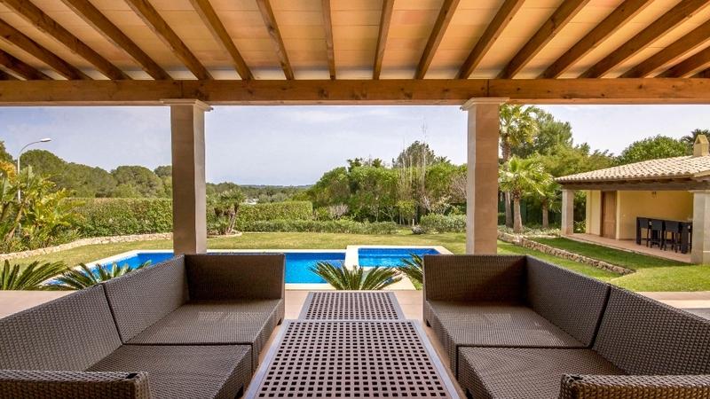 Villa in Nova Santa Ponsa - Covered terrace