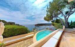 Villa in Mallorca - Terrace with Pool and sea views