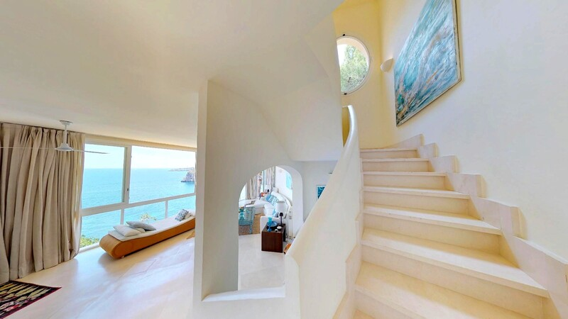 Villa in Mallorca - Stairs to living
