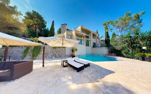 Villa in Son Vida - Sunny Villa in Son Vida with sea views
