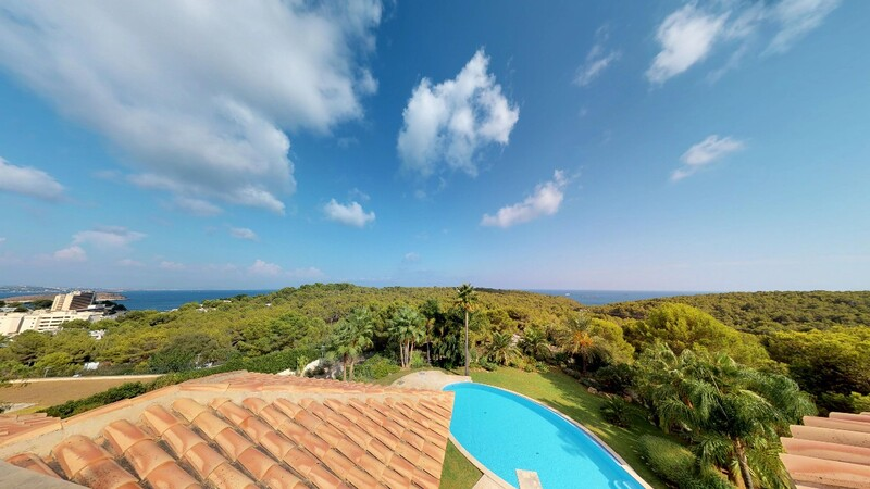 Villa in Cala Vinyes - Stunning panoramic view