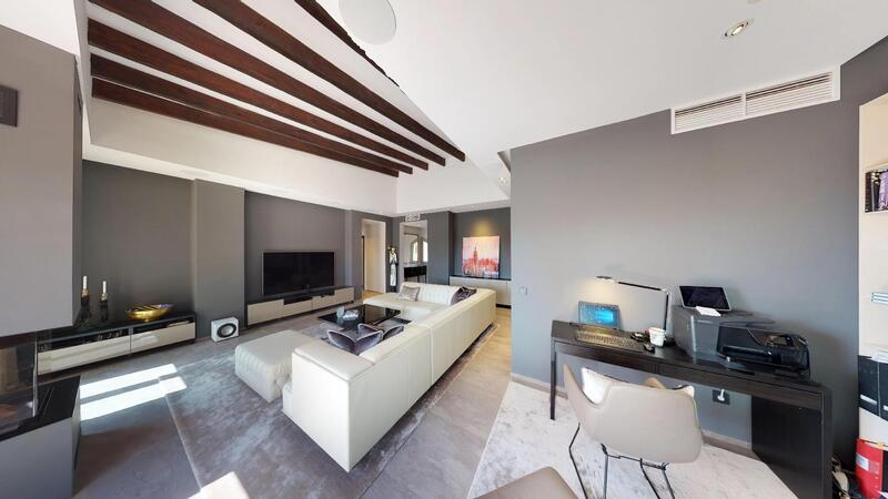 Penthouse in Nova Santa Ponsa - Office nook