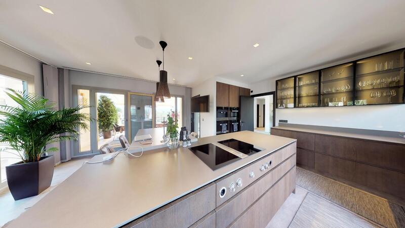 Penthouse in Nova Santa Ponsa - Modern newly renovated kitchen