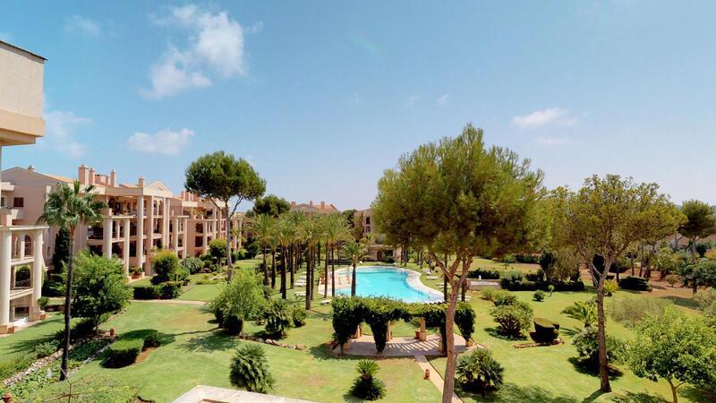Penthouse in Nova Santa Ponsa - Pool and garden views