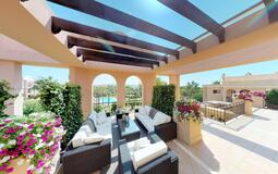 Penthouse in Nova Santa Ponsa - Sunny terrace with pool views