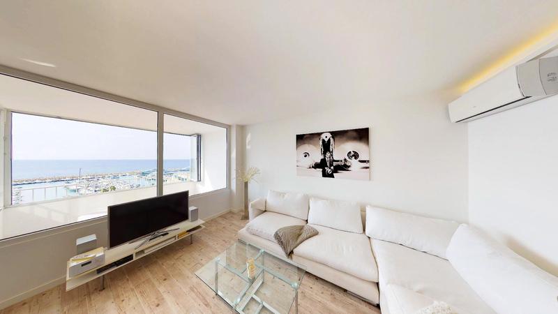 Apartment in Portals Nous - Sea view living room