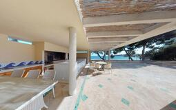 Villa in Palmanova - Outdoor sea view dining