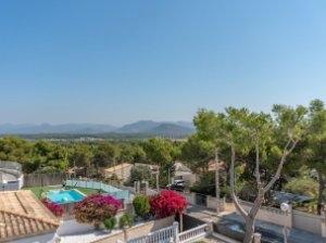 Villa in El Toro - Port Adriano - Upper balcony Views