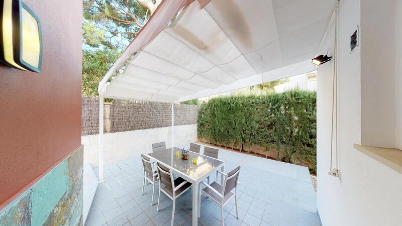 Villa in El Toro - Port Adriano - Kitchen - private terrace