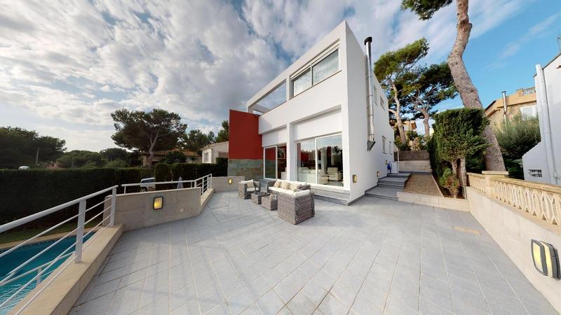Villa in El Toro - Port Adriano - Modern villa for sale near Puerto Adriano
