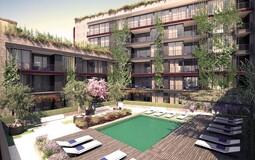 Penthouse in Palma de Mallorca - Community pool and garden