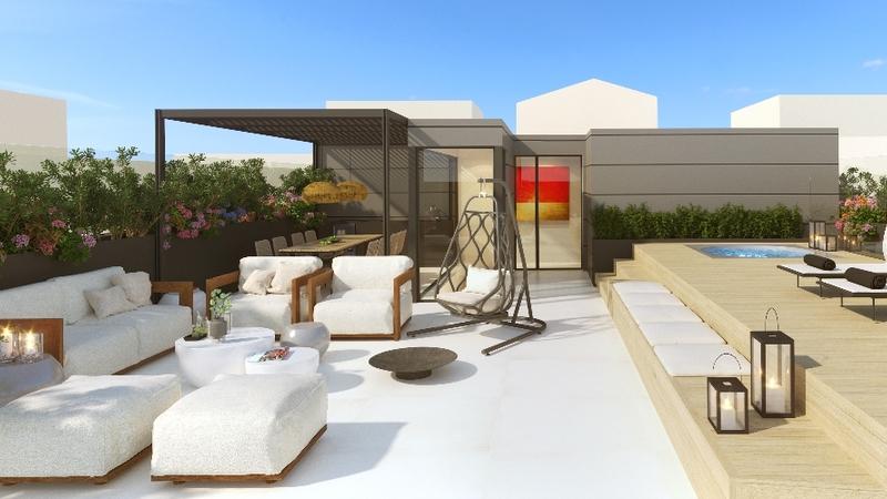 Penthouse in Palma de Mallorca - AZOTEA_DIA 603