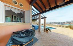 Villa in El Toro - Port Adriano - Dining terrace