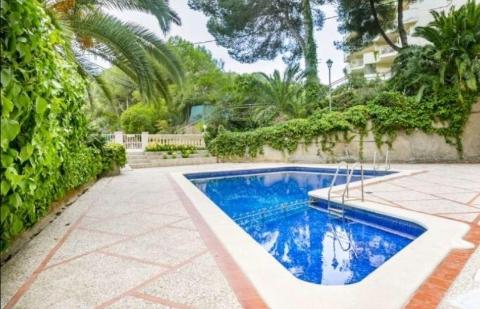 Apartment in Cala Vinyes - Pool
